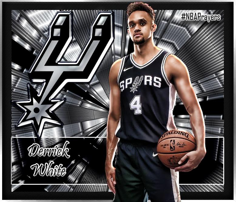Nba Player Edit Spurs Derrick White Nba Players Oakland Raiders Spurs