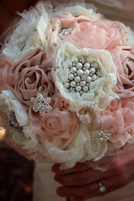 Ramo De Novia Tela Por Simplytimelessevents Csokor Brooche Bouquet In 2018 Pinterest Wedding Flowers Bouquets And