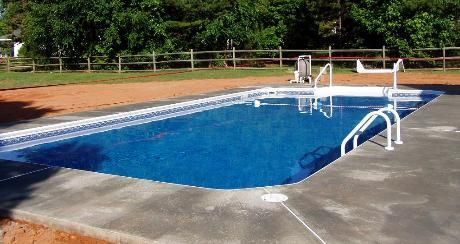 16 X 32 Inground Swimming Pool Installed