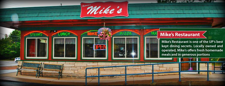 Mike's Restaurant In Ironwood, Michigan Just around the ...