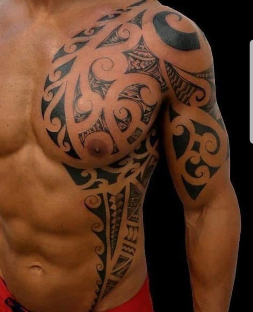 49+ Tatouage tribal bras torse trends