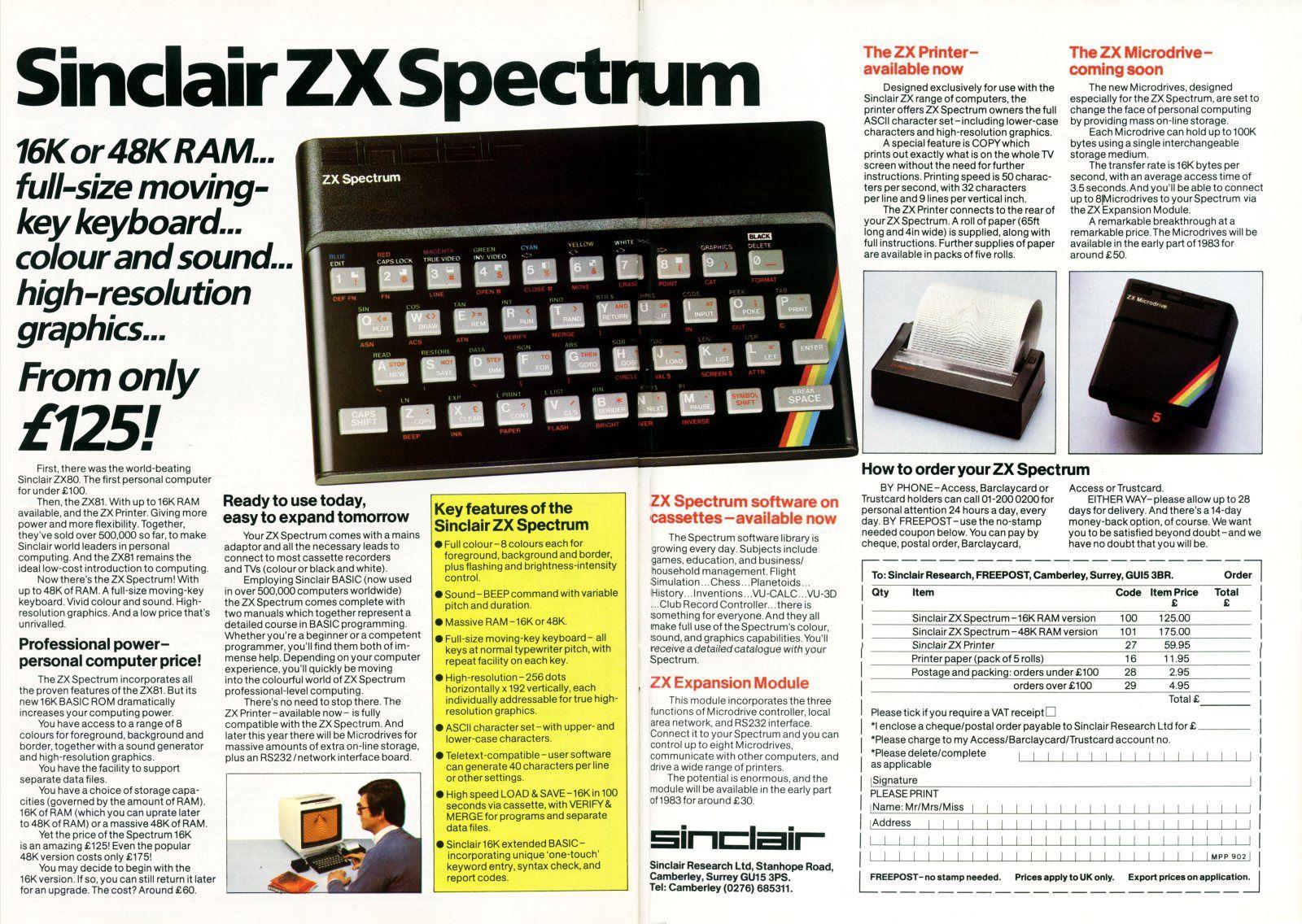 I always had a Vic20. Got the Spectrum app on my iPad