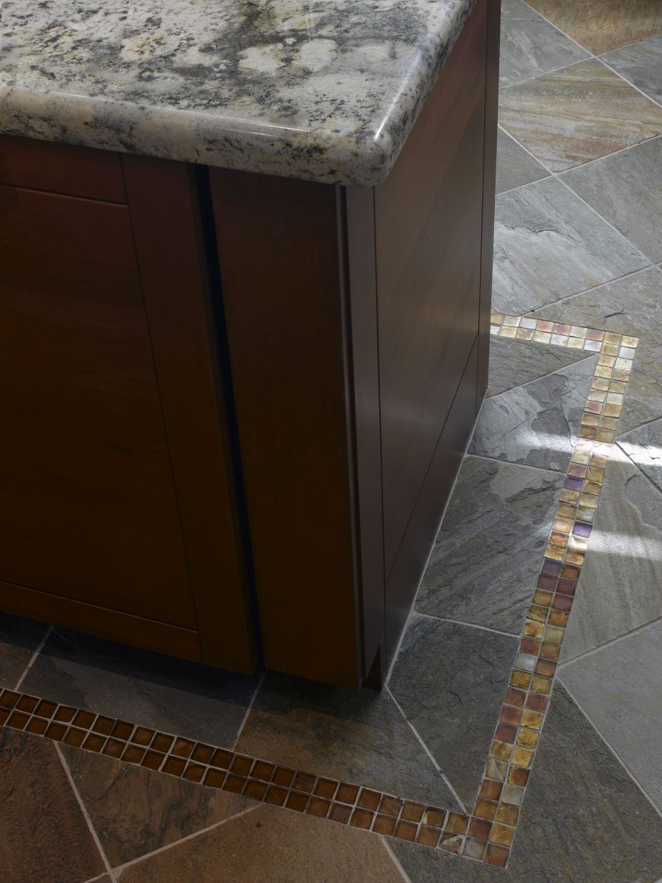 Kitchen, Creative Modern Tile Designs For Kitchen Floor