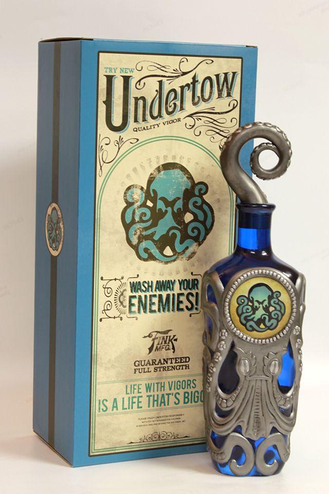 BioShock Infinite Undertow Vigor Bottle | Packaging Pick Of