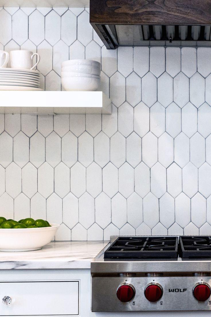 A Kitchen That Draws In A Crowd Kitchen Tiles Backsplash Kitchen Backsplash Kitchen Remodel Tiles for backsplash in kitchen