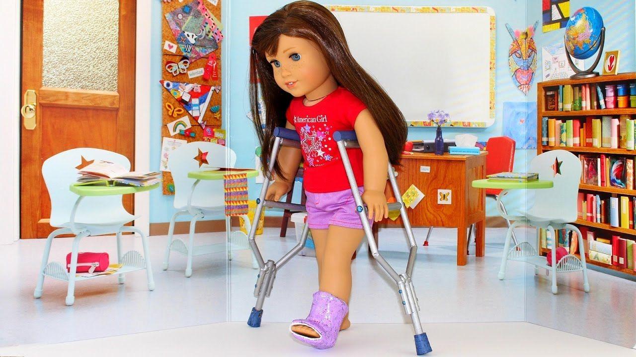 Doll Crutches Diy American Girl Doll Crafts 18 Doll Craft Ideas