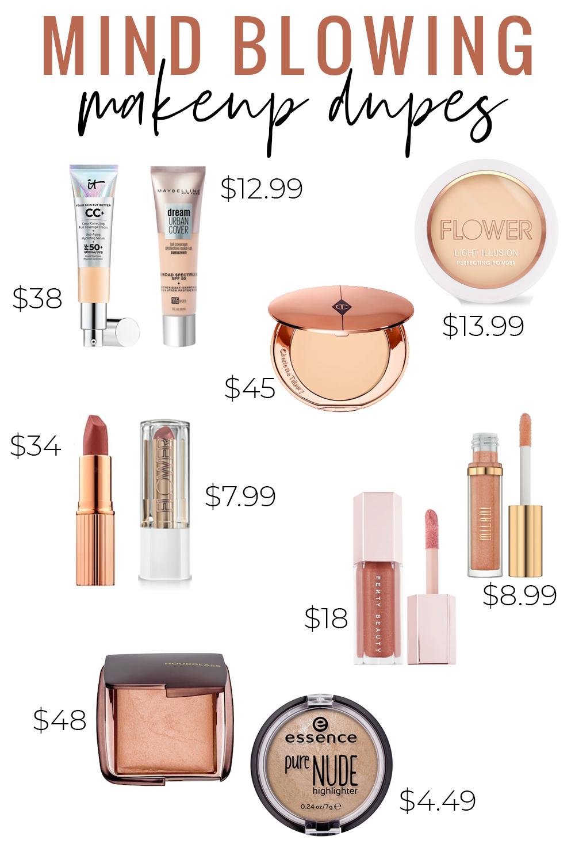 Testing Popular High End Makeup Dupes! It Cosmetics CC
