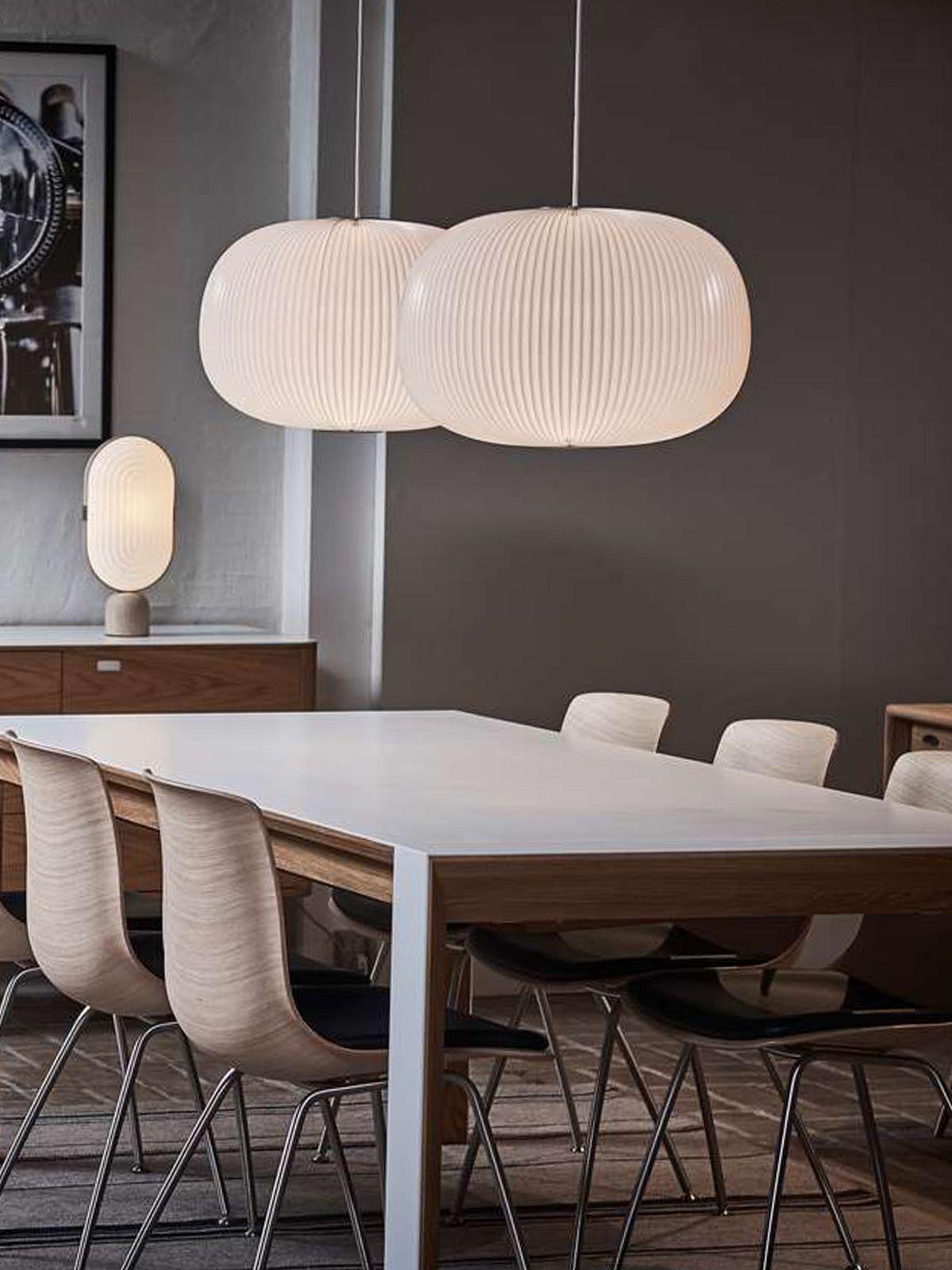 Lamella 1 Designort Com Haus Deko Design Lampe Weiß