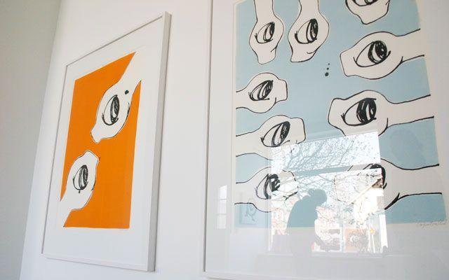 Tavlor från utställning hos Jiip. cajfre@gmail.com