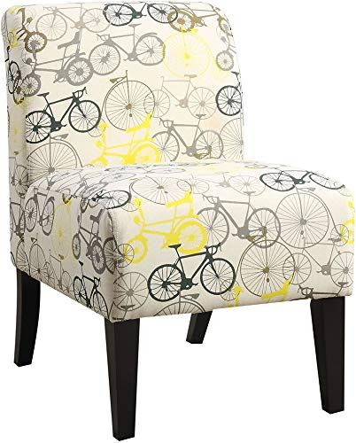 Amazing Offer On Acme Ollano Pattern Fabric Accent Chair