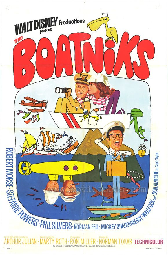 The Boatniks 1 July 1970; I watched it on 31 Jan 2014