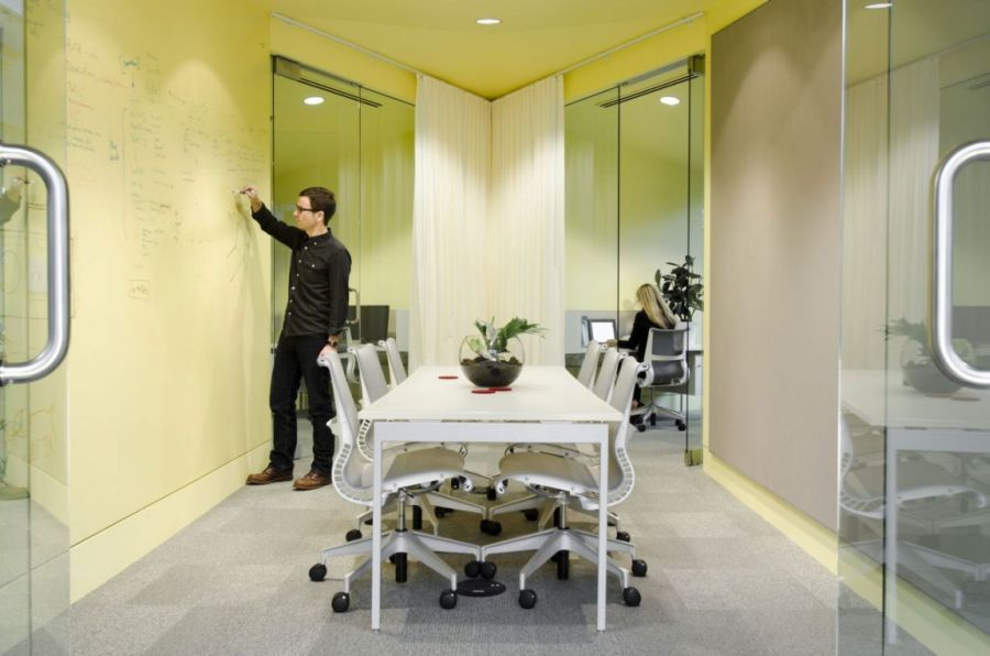 Cool Office Space for FINE Design Group by Boora Architects | Office ...