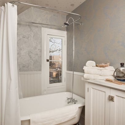 stand alone tub shower design ideas, pictures, remodel