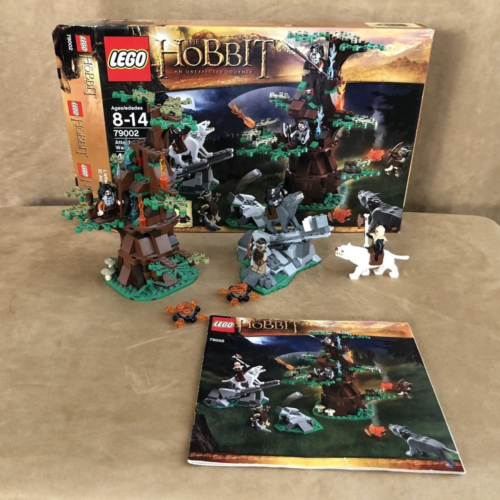 79002 Lego Complete The Hobbit Attack Of The Wargs Box Instructions