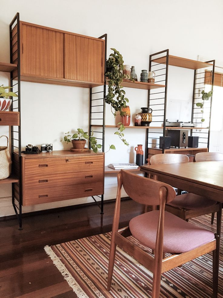 Mid Century Teak Parker Dining Table And Chairs Ladderax In 2020