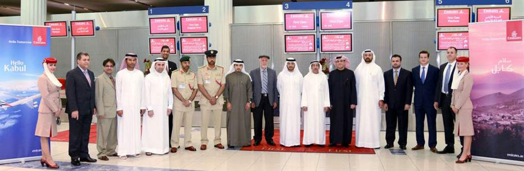 Emirates arrives in Afghanistan