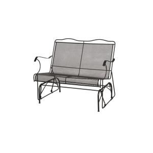 Hampton Bay Jackson Patio Loveseat Glider Deck Decor