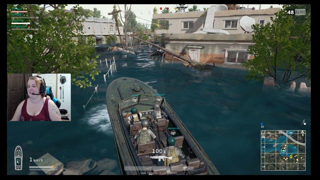 Boat docking like a boss PUBG Playerunknow's