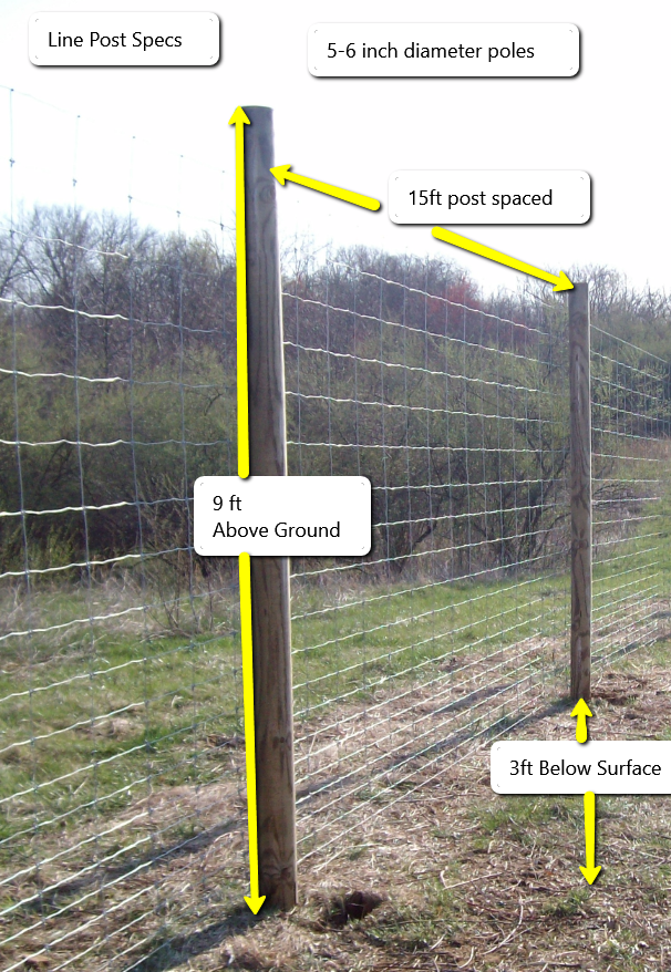 The Best Deer Fence To Keep Deer Out Profence Llc Setting Up