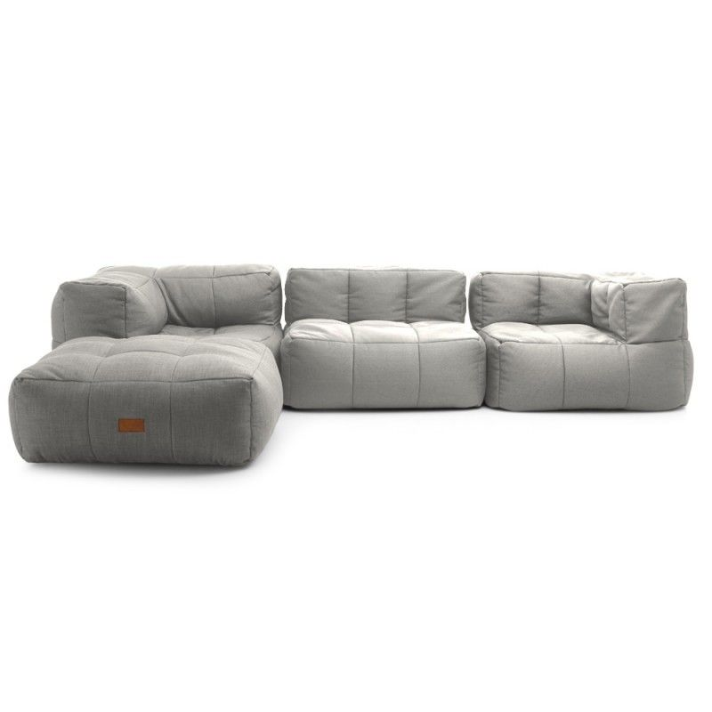 lazy bag kick back compressed foam modular sofa smokethe block shop channel 9