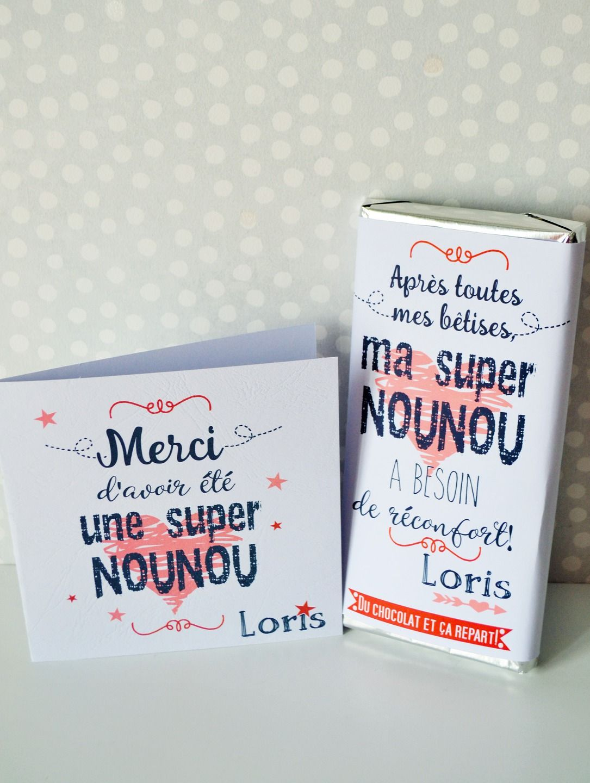 KIT CADEAU SUPER NOUNOU / SUPER MAITRESSE : Cadeau de remerciement