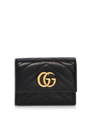 12b3134ae2f391 GUCCI Gg Marmont Matelassé Leather Wallet. #gucci #wallet | Gucci ...