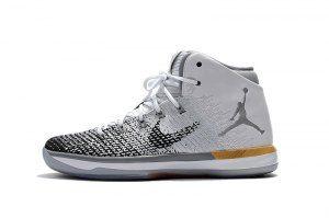 meet 7c3c9 784b9 Mens Nike Air Jordan 31 XXX1 Chinese New Year CNY White Black Gold 885429  103 Basketball