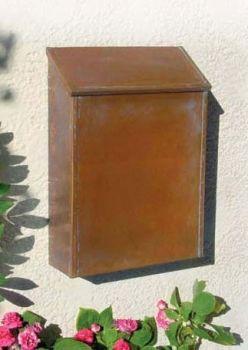 Traditional Vertical Antique Brass Wall Mount Mailbox Seattleluxe Com Wall Mount Mailbox Copper Brass Wall Mount