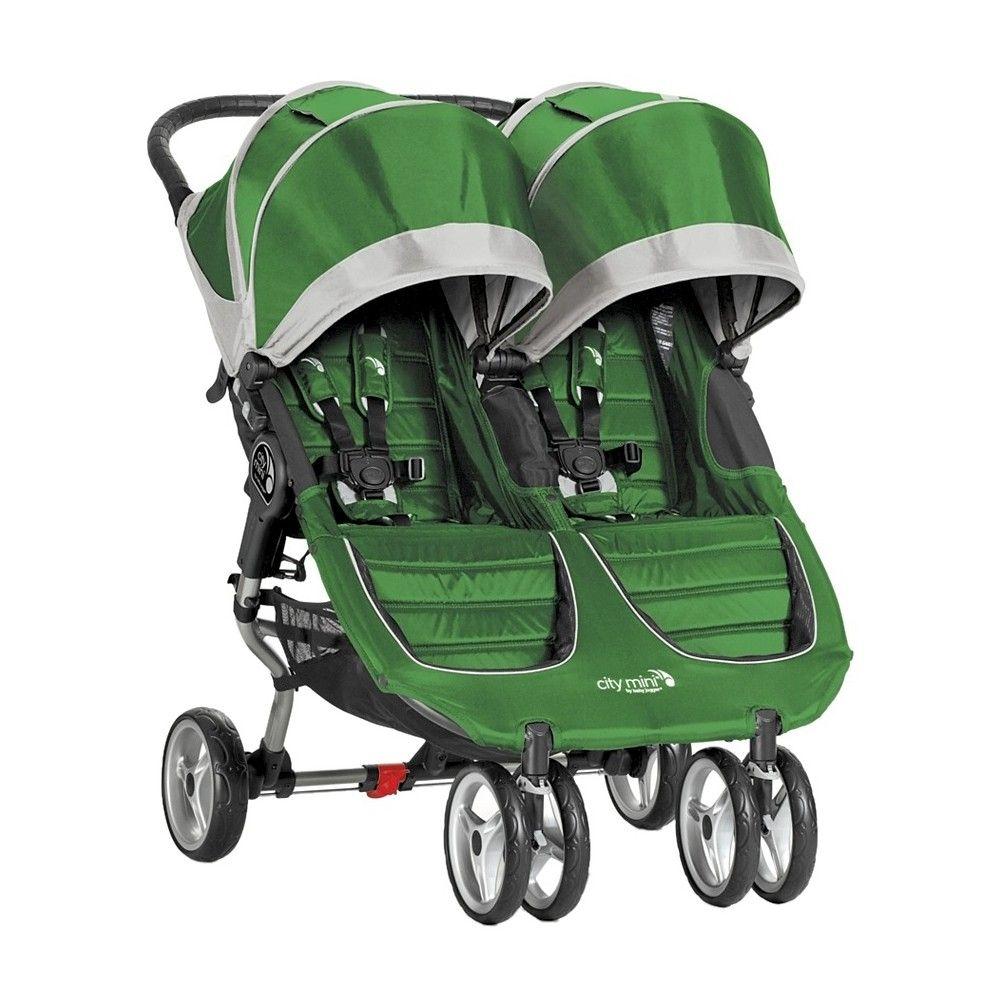 Baby Jogger City Mini Double Evergreen/Gray (Green/Gray