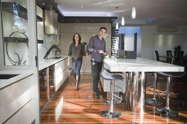 Kitchen Designer Kim Duffin In His Award Winning 18M Kitchen In Magnificent Kitchen Designer Brisbane Decorating Inspiration