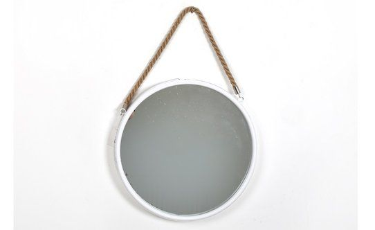 30 Specchio Tondo Con Corda D.35cm – Conforama   Arredo Bagno ...