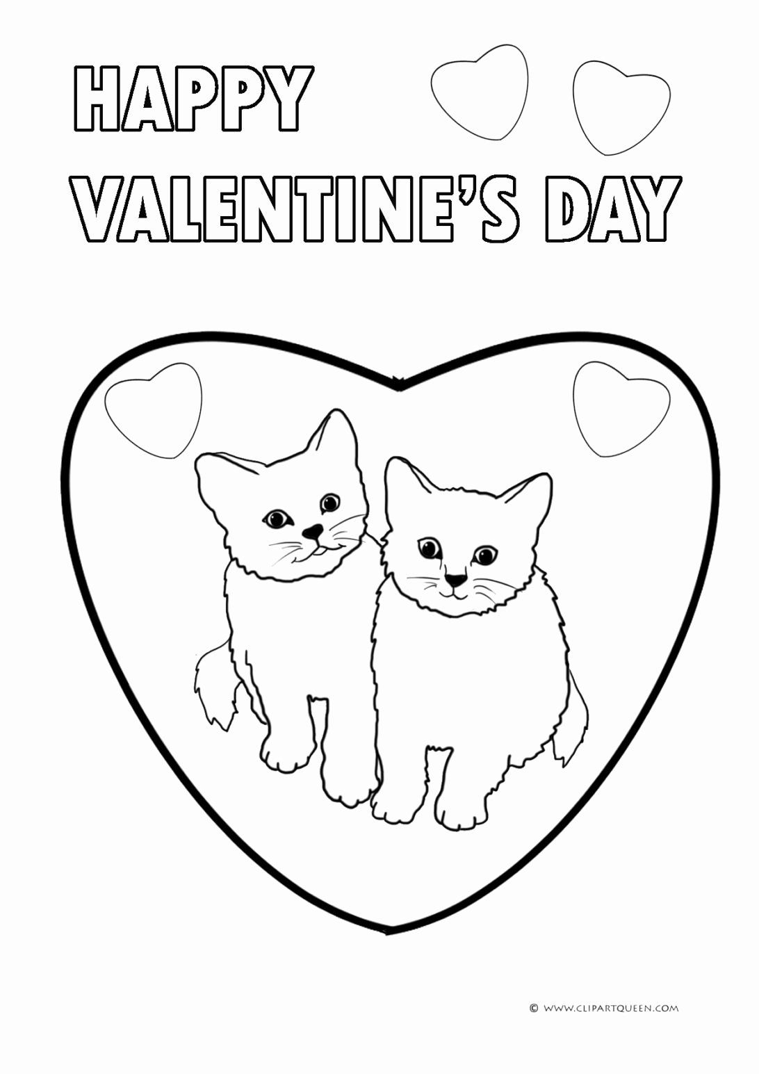 Funny Animals Coloring Pages in 2020   Valentine coloring ...