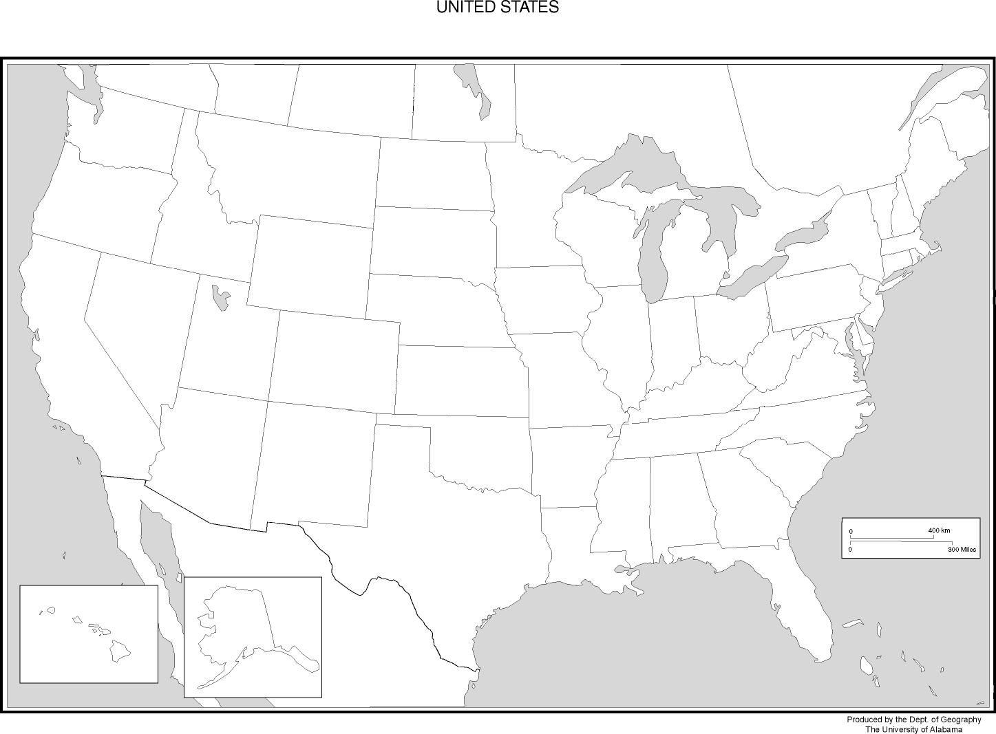 Blank Map Of Usa United States Blank Map Cub Scouts - Map of usa with states named