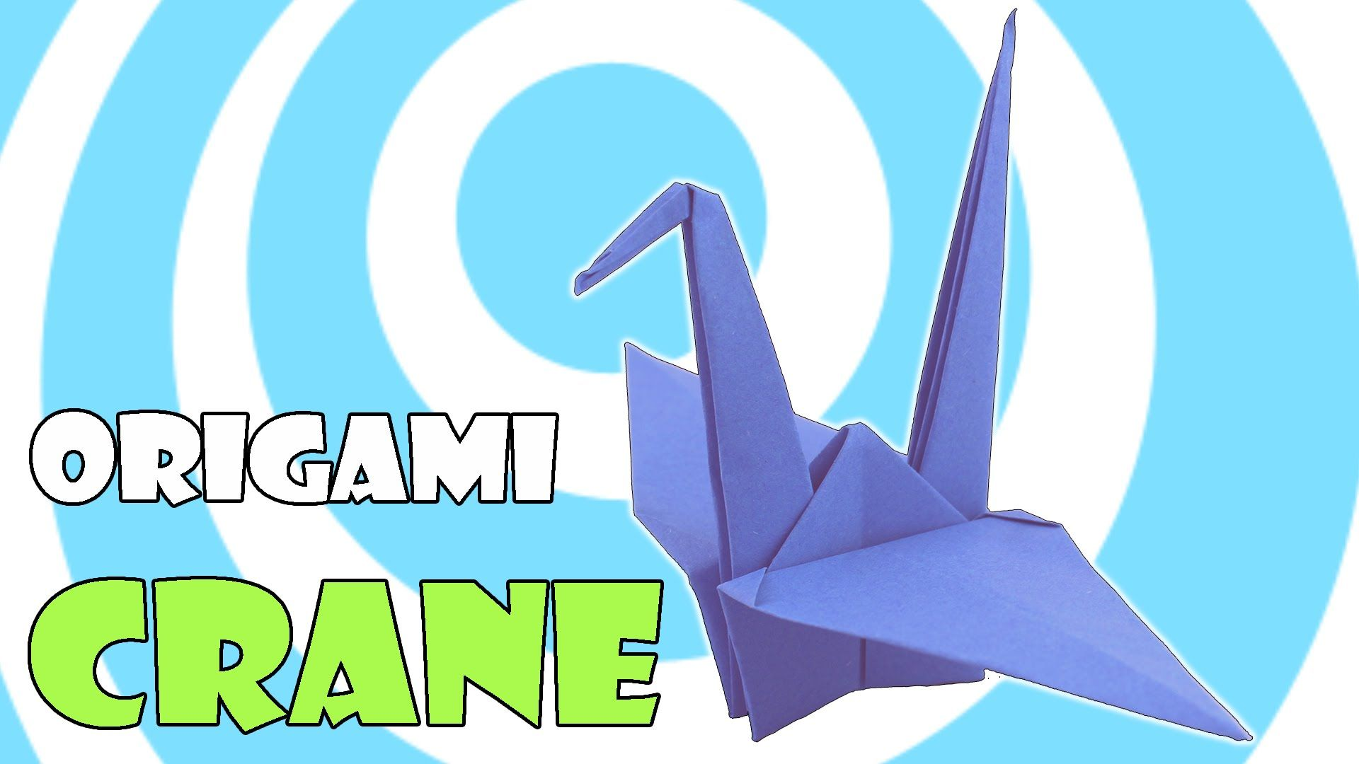 How To Make a Paper Crane: Origami Step by Step-Easy - YouTube | 1080x1920