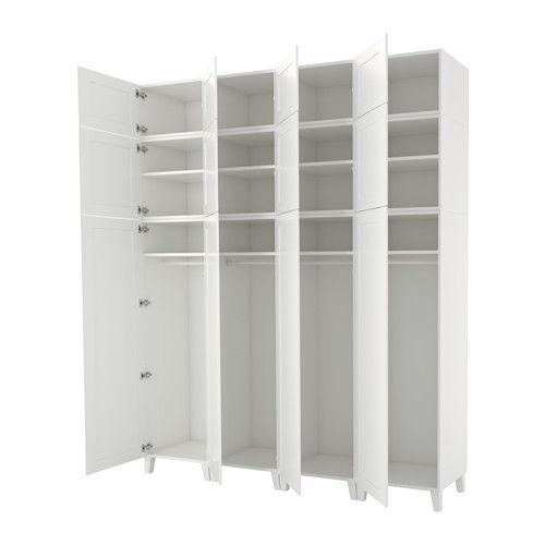 IKEA - PLATSA, Armoire-penderie, Utilisez des accessoires HJÄLPA - armoire a balai exterieur