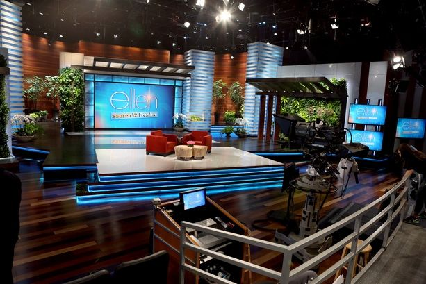 The Ellen Degeneres Show Set Design Gallery
