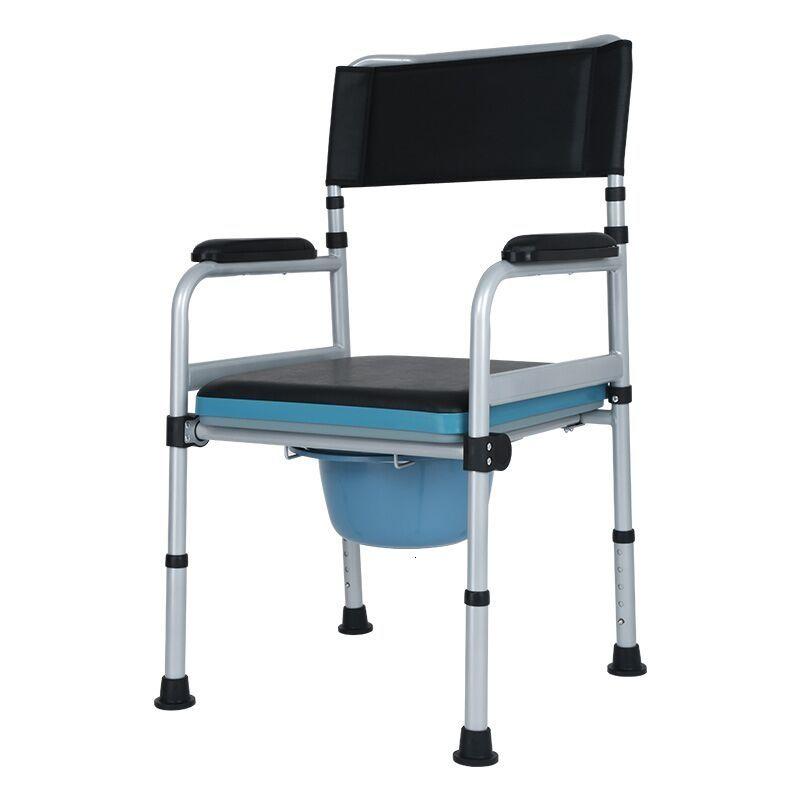 Sit Toilet Chair The Elderly Foldable Household Reinforce Non Slip Belt Round Sit Then Disabled Shit Chair Pregnant Woman In 2020 Toilet Chair Chair Bathroom Chair