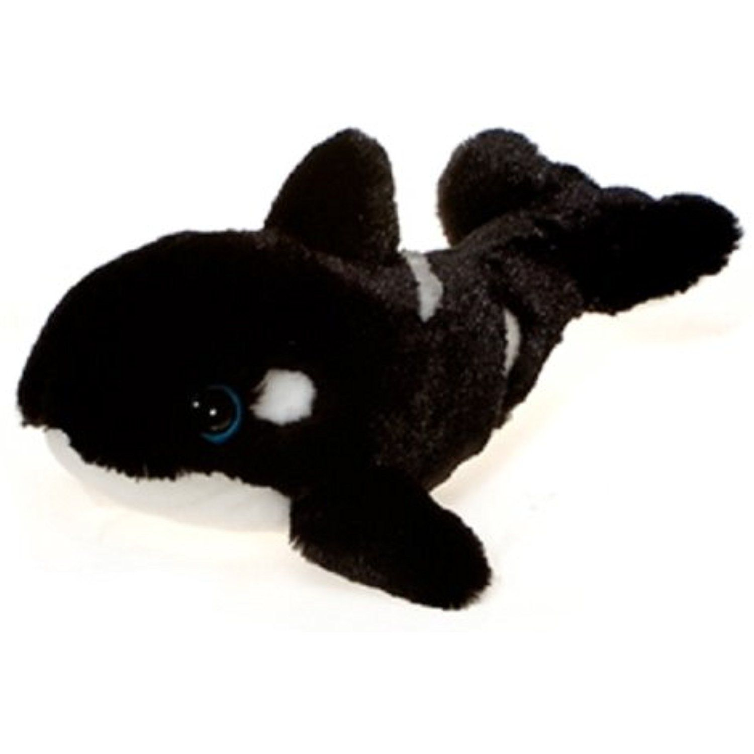 12 5 Orca Killer Whale With Big Eyes Plush Stuffed Animal Toy By
