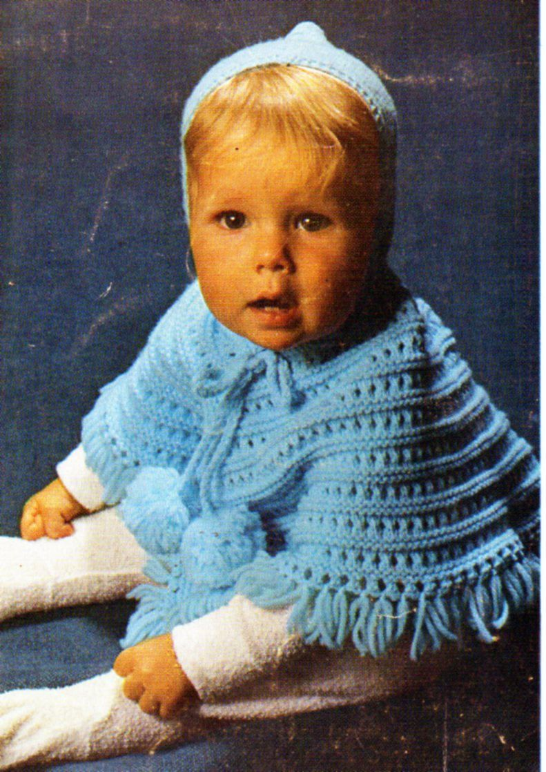 Funky Baby Poncho Knitting Pattern Mold - Great Sewing Ideas ...