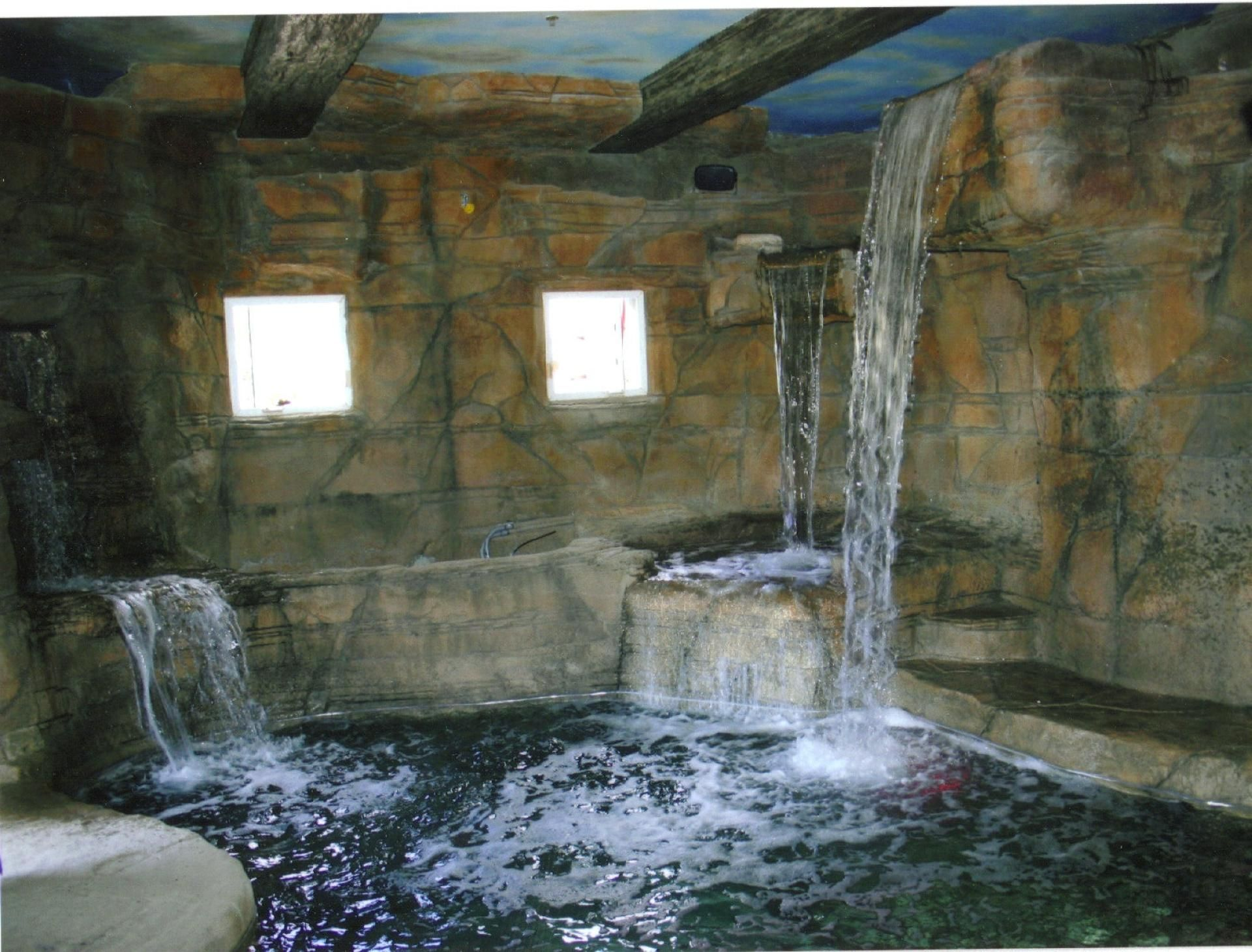 Waterfall Shower Designs House Decor