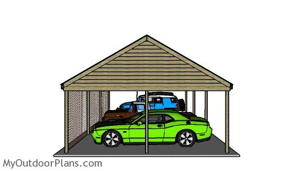 Best 25 Wooden Carports Ideas On Pinterest Carport Covers Car Ports And Cheap Carports
