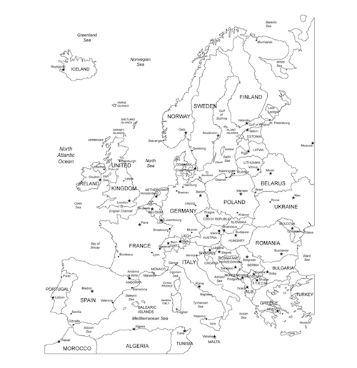 Read the World: Europe   Geography for kids, Europe map ...
