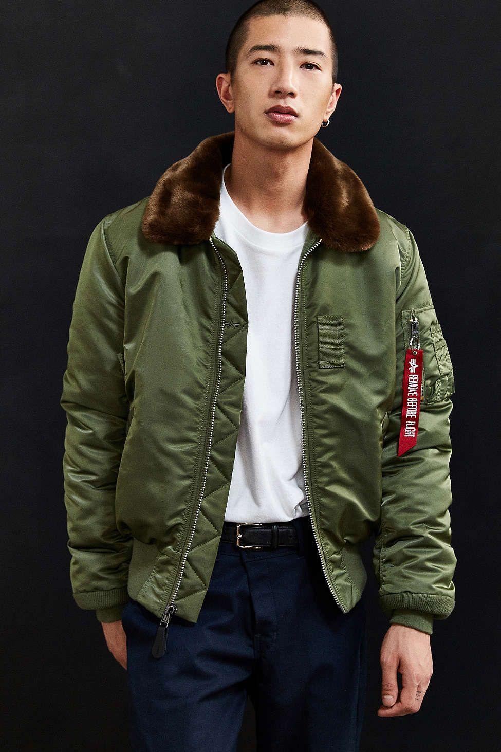 00f5e961b Alpha Industries B-15 Slim Fit Bomber Jacket | clothe | Bomber ...