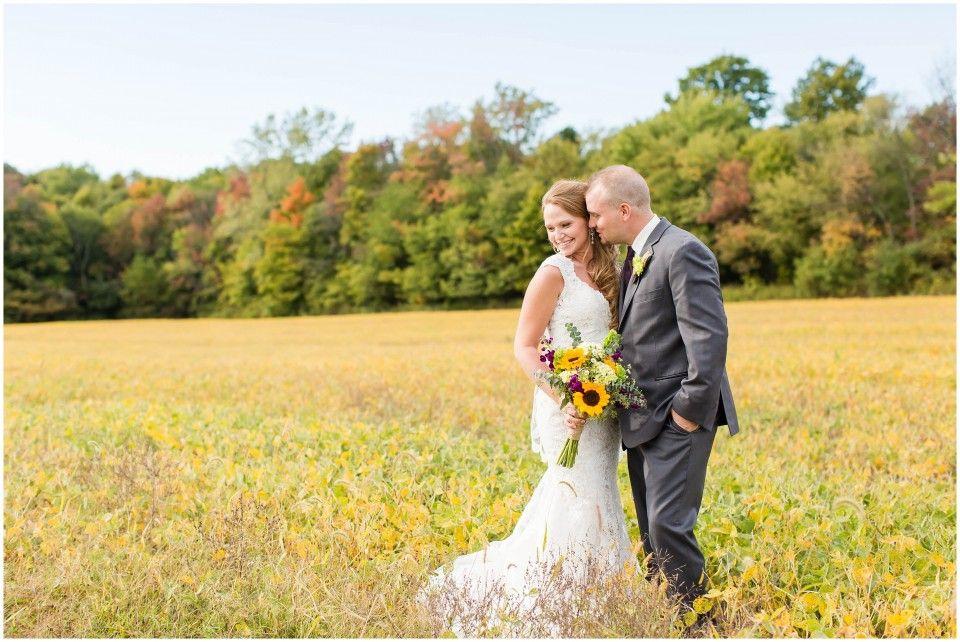 wedding picture locations akron ohio%0A Ohio Wedding Photographer Peacock Ridge Fall Wedding Rustic Wedding Venue  in Northeast Ohio