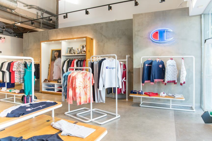 Champion Athleticwear Debuts New Retail Store In New York