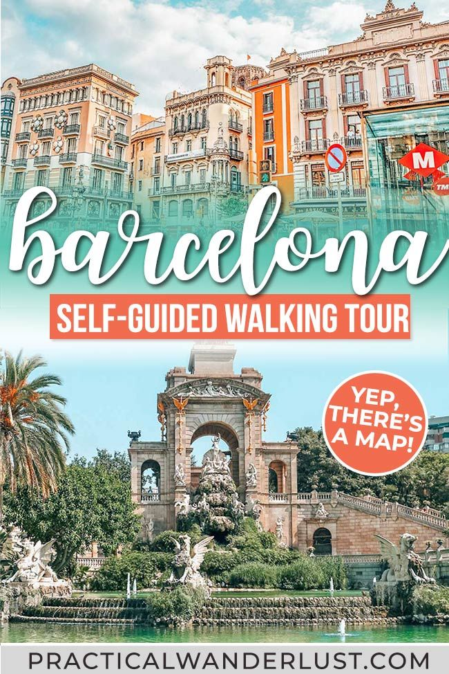 Barcelona, Spain is the center of Catalan history and culture! One of the best things to do in Barcelona is to explore the Old Center and Gothic Quarter. This walking tour of Barcelona takes you to La Boqueria, La Rambla, the Jewish Quarter, the Barcelona Cathedral, and more. (Yes, there's a map.) #travel #Barcelona