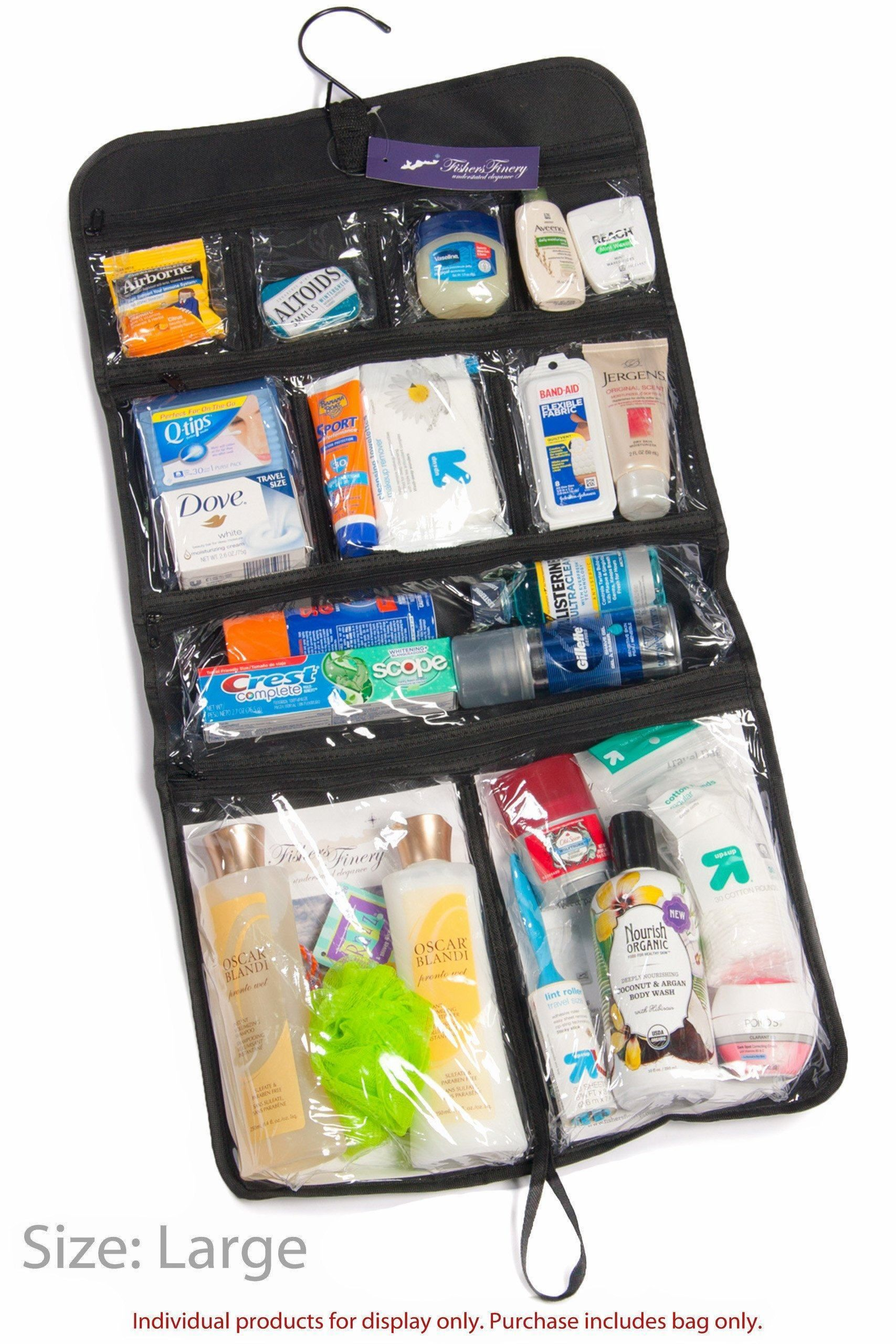 Home Luggage - Expert Traveler Hanging Toiletry Bag - Designed By Travelers  For Travelers c45ba6bd387f9
