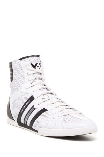 160166e917a77 adidas Y-3 Sala High Top  White
