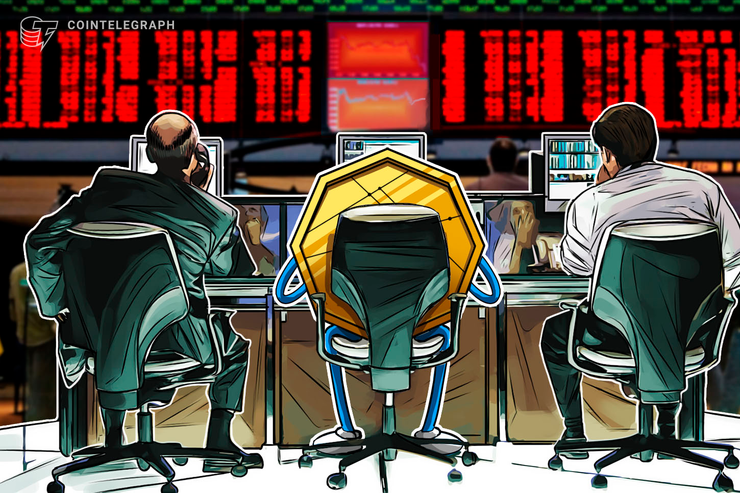 Top Crypto Markets Report Losses, Bitcoin Hovers Around