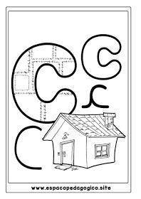 Lindo Alfabeto Ilustrado Para Colorir Pintar Imprimir